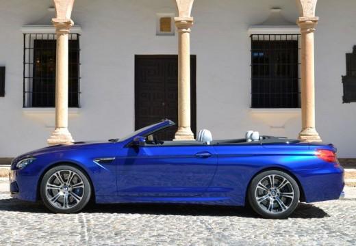 BMW Seria 6 Cabriolet F12 I kabriolet niebieski jasny boczny lewy