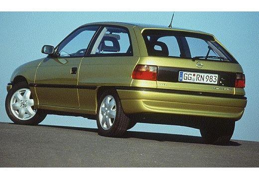 OPEL Astra II hatchback zielony jasny tylny lewy
