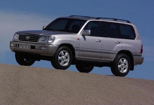 Toyota Land Cruiser 100 II kombi silver grey przedni lewy