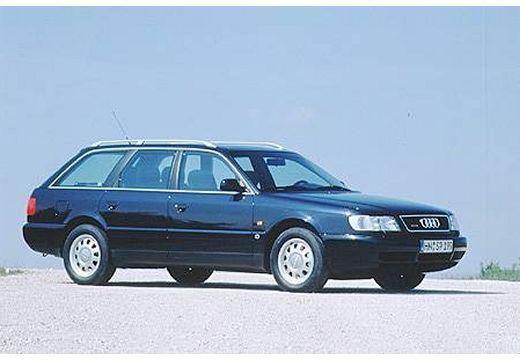 AUDI A6 /S6 Avant C4 kombi niebieski jasny przedni prawy