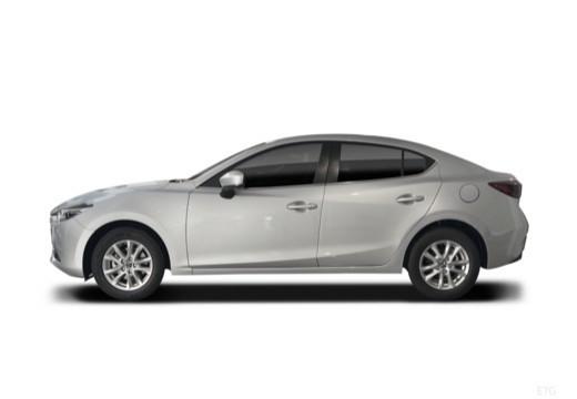 MAZDA 3 VI sedan boczny lewy