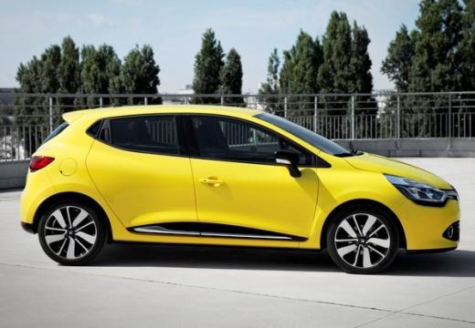 RENAULT Clio IV I hatchback żółty boczny prawy