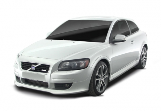 VOLVO C30 I hatchback biały