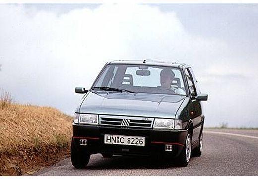 FIAT Uno I hatchback szary ciemny przedni