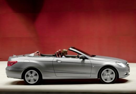 MERCEDES-BENZ Klasa E Cabrio A 207 I kabriolet silver grey boczny prawy