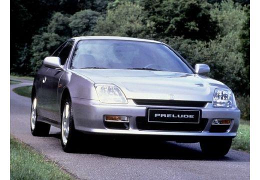 HONDA Prelude coupe silver grey przedni prawy