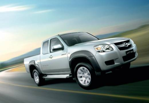 MAZDA B-seria pickup silver grey przedni prawy