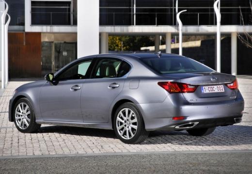 LEXUS GS IV sedan silver grey tylny lewy