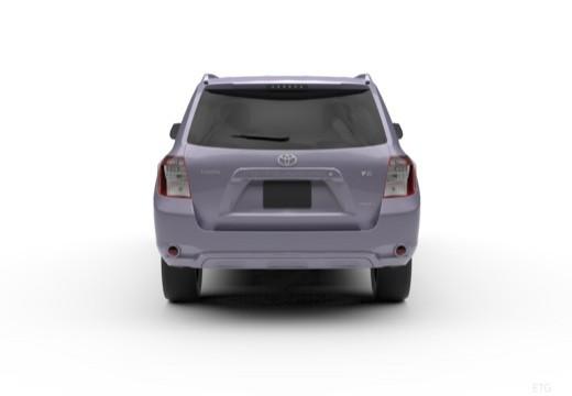 Toyota Highlander II kombi tylny