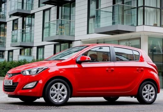 HYUNDAI i20 II hatchback czerwony jasny przedni lewy