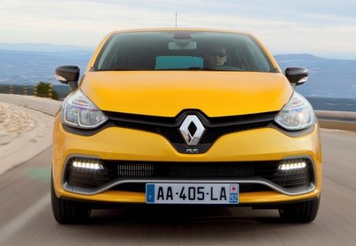 RENAULT Clio IV I hatchback żółty przedni