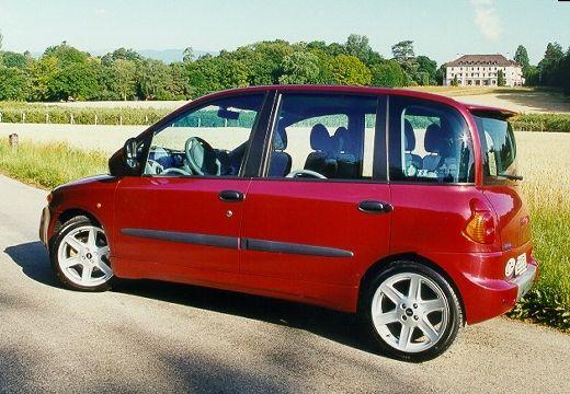 FIAT Multipla I kombi czerwony jasny tylny lewy