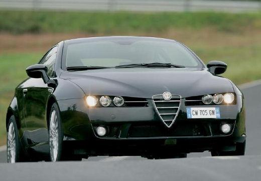 ALFA ROMEO Brera coupe czarny przedni prawy