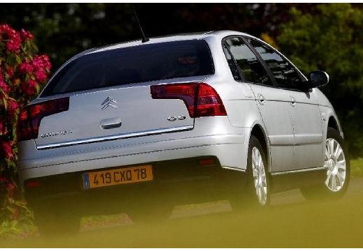 CITROEN C5 II hatchback silver grey tylny prawy