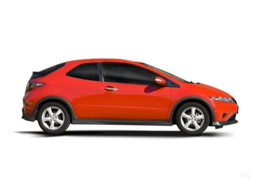 HONDA Civic VII hatchback boczny prawy