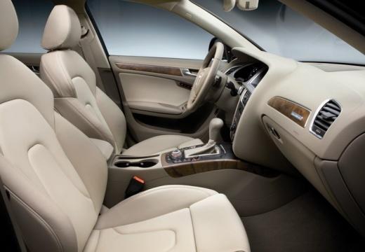 AUDI A4 Allroad I kombi silver grey wnętrze