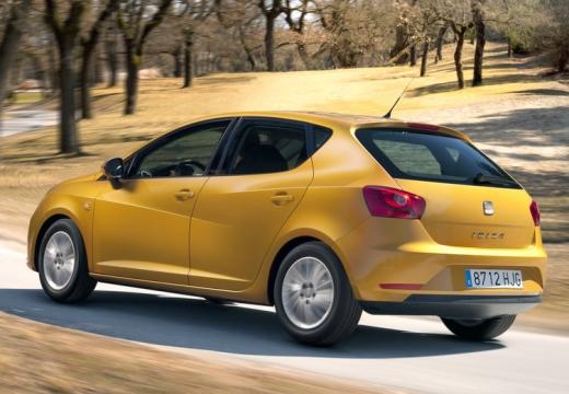 SEAT Ibiza VI hatchback żółty tylny lewy