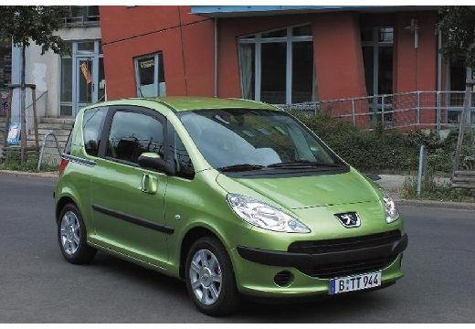 PEUGEOT 1007 hatchback zielony przedni prawy