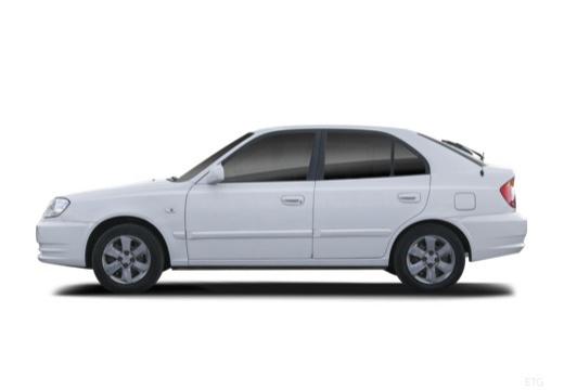 HYUNDAI Accent III hatchback boczny lewy