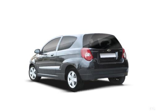 CHEVROLET Aveo II hatchback czarny tylny lewy