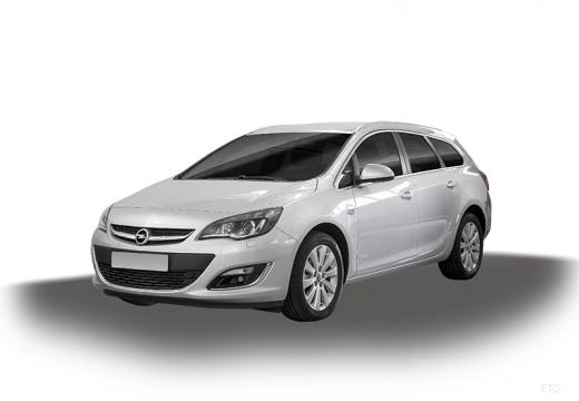 OPEL Astra IV ST II kombi silver grey