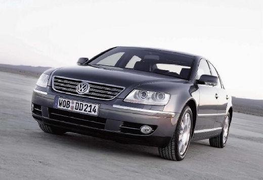 VOLKSWAGEN Phaeton sedan silver grey przedni lewy