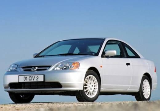HONDA Civic coupe silver grey przedni lewy