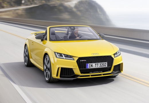 AUDI TT roadster żółty przedni prawy