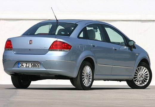FIAT Linea I sedan niebieski jasny tylny prawy
