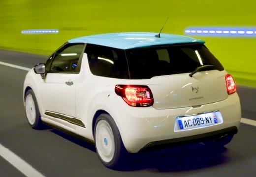CITROEN DS3 hatchback biały tylny lewy