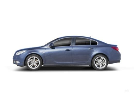 OPEL Insignia I sedan boczny lewy