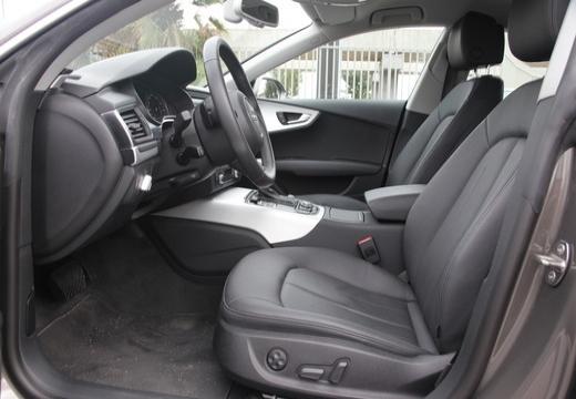 AUDI A7 hatchback wnętrze