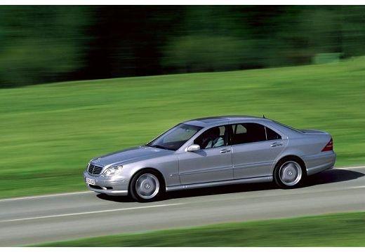 MERCEDES-BENZ Klasa S W 220 I sedan silver grey przedni lewy