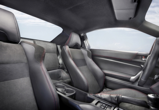 Toyota GT86 coupe wnętrze