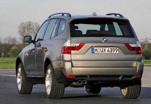 BMW X3 X 3 E83 II kombi szary ciemny tylny lewy
