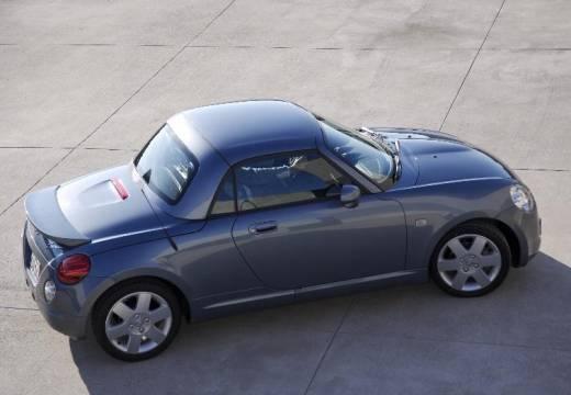 DAIHATSU Copen roadster silver grey tylny lewy