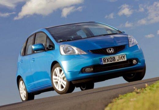 HONDA Jazz II hatchback niebieski jasny przedni prawy