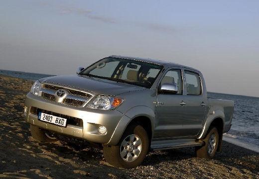 Toyota HiLux III pickup szary ciemny przedni lewy