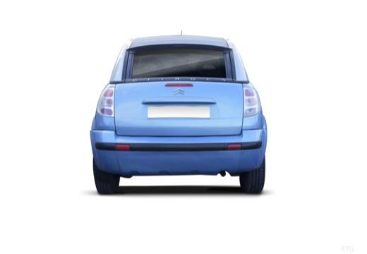 CITROEN C3 Pluriel hatchback tylny