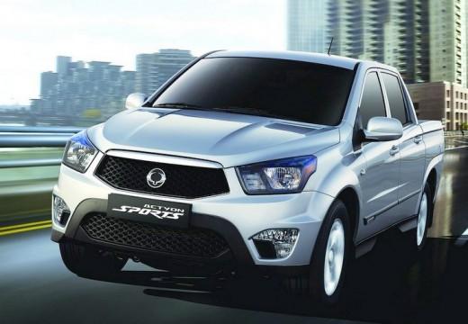 SSANG YONG Actyon Sports 2.0 d Sapphire 4WD aut Pickup II 155KM (diesel)