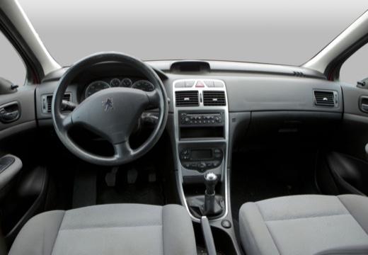 PEUGEOT 307 I hatchback tablica rozdzielcza