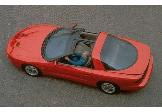 PONTIAC Firebird sedan czerwony jasny górny tylny