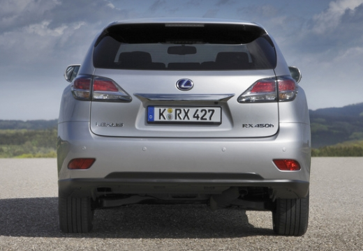 LEXUS RX III kombi silver grey tylny