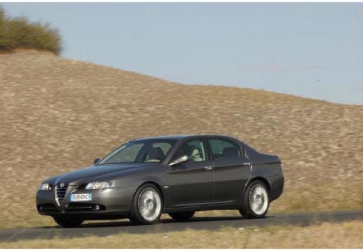 ALFA ROMEO 166 sedan szary ciemny przedni lewy