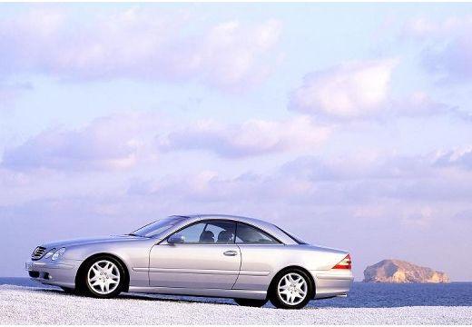 MERCEDES-BENZ Klasa CL 215 coupe silver grey przedni lewy
