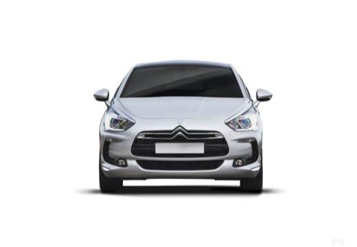 CITROEN DS5 hatchback silver grey przedni