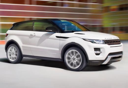 LAND ROVER Range Rover Evoque I kombi biały przedni prawy