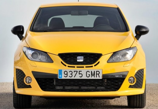 SEAT Ibiza V hatchback żółty przedni
