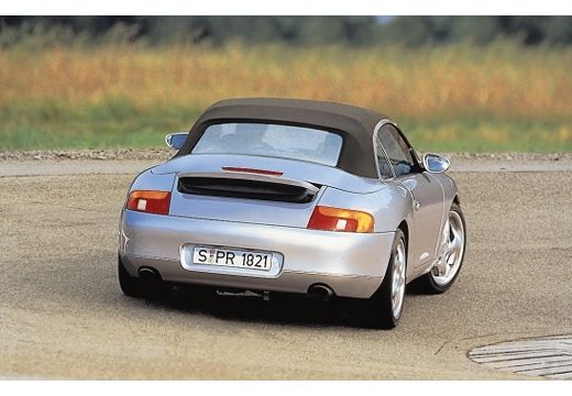 PORSCHE 911 Cabrio 996 kabriolet silver grey tylny prawy