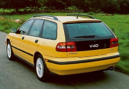 VOLVO V40 kombi żółty tylny lewy